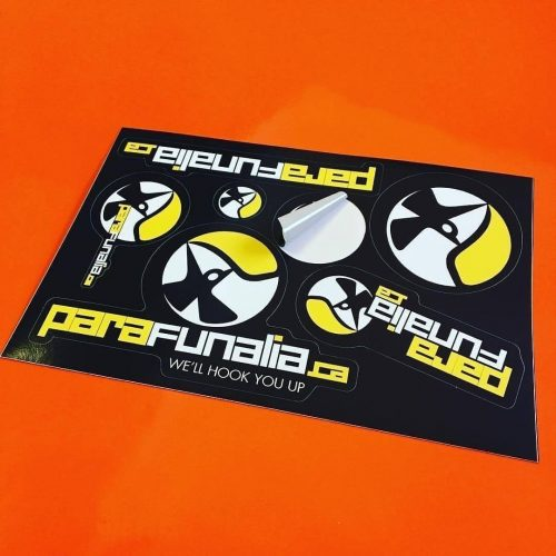 ParaFunalia Sticker Sheet