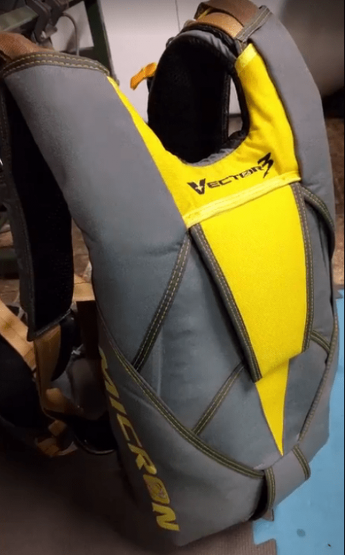 Vector V3 Micron/M-Series Skydiving Container